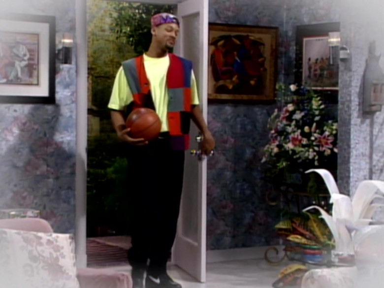 Nike Black Shoes Worn by Will Smith in The Fresh Prince of Bel-Air S03E16 (1)