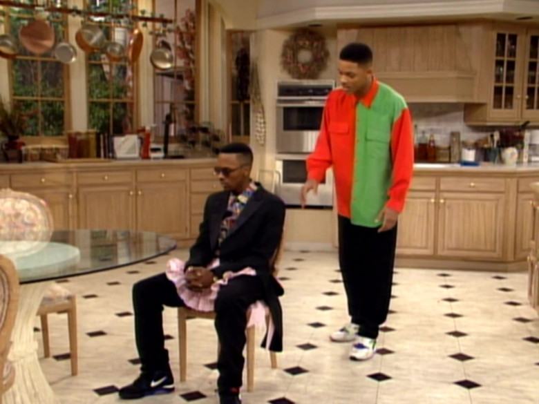 Nike Black Trainers Worn by DJ Jazzy Jeff as Jazz in The Fresh Prince of Bel-Air S02E17