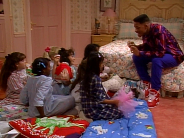 Nike High Top Shoes in Red Worn by Will Smith in The Fresh Prince of Bel-Air S01E14 (2)
