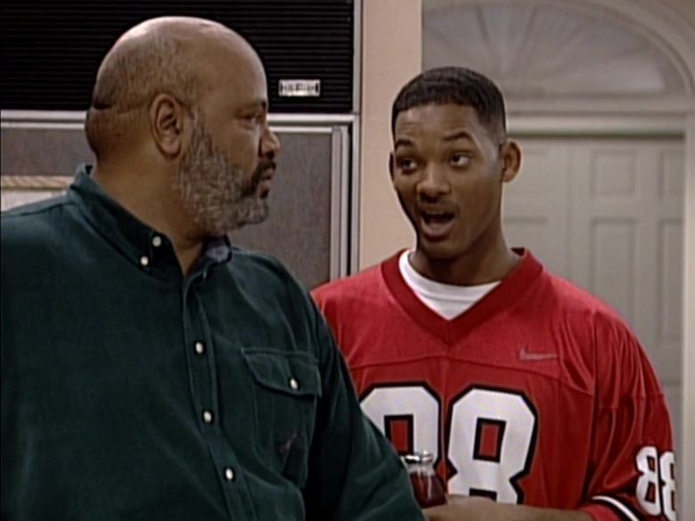 Nike Jersey (Red) Outfit Worn by Will Smith in The Fresh Prince of Bel-Air S06E08 (3)