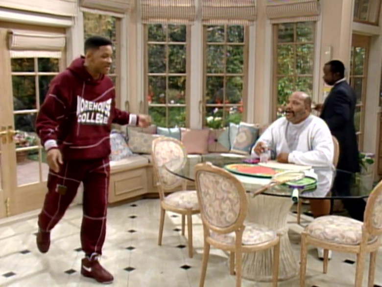 Nike Red Sneakers Worn by Will Smith in The Fresh Prince of Bel-Air S04E10 (1)