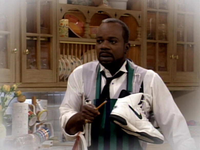 Nike Shoes Held by Joseph Marcell as Geoffrey Butler