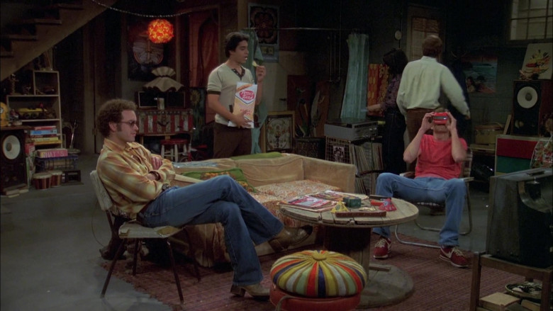 Nike Shoes (Red) of Ashton Kutcher as Michael in That '70s Show S06E02