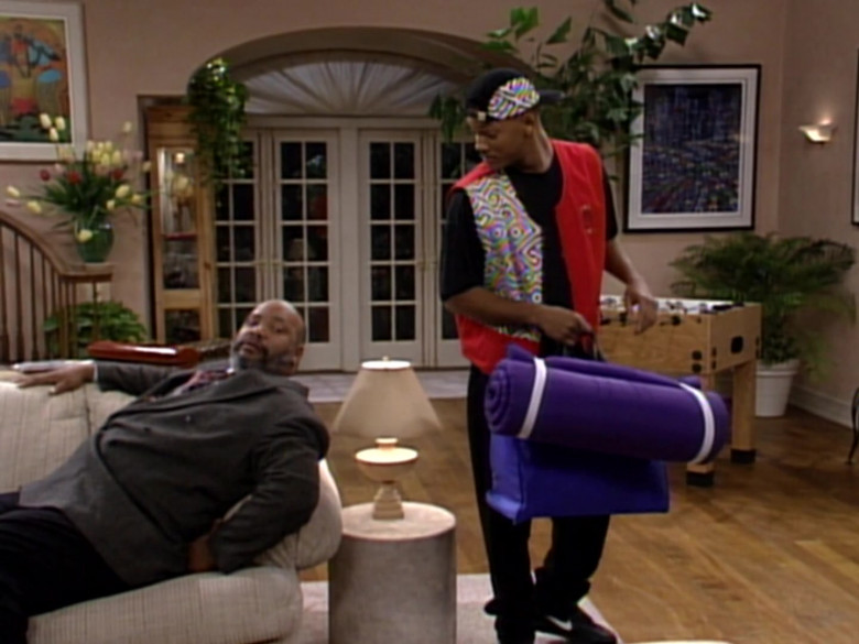 Nike Shoes, Vest and Black Pants Outfit Idea of Will Smith in The Fresh Prince of Bel-Air S03E11 (1)