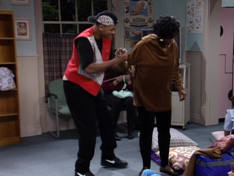 Nike Shoes, Vest and Black Pants Outfit Idea of Will Smith in The Fresh Prince of Bel-Air S03E11 (3)