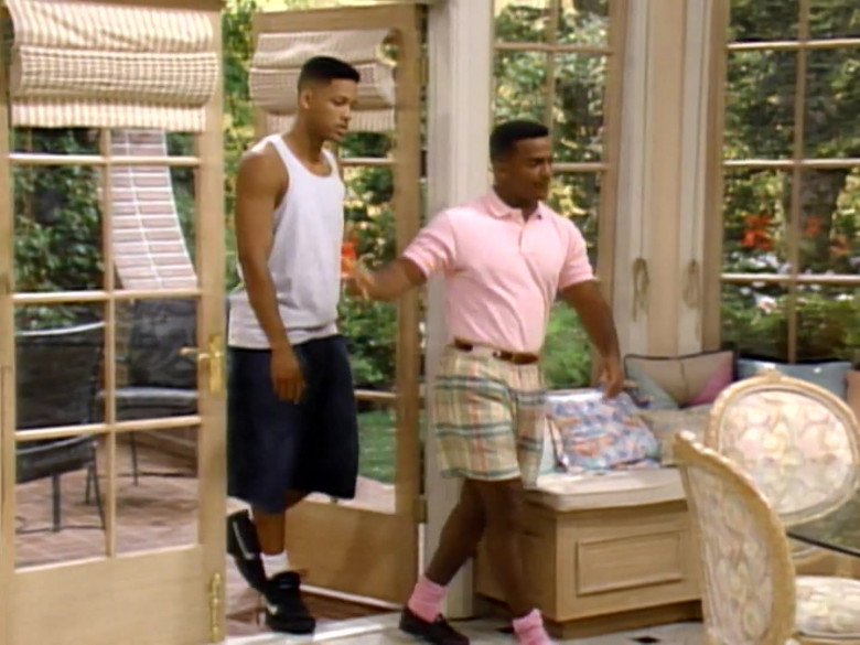 Nike Sneakers (Black) Worn by Will Smith in The Fresh Prince of Bel-Air S04E06 (1)
