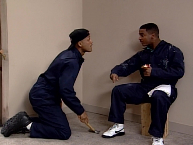 Nike Sneakers (White) Worn by Alfonso Ribeiro Alfonso in The Fresh Prince of Bel-Air S05E19 (2)