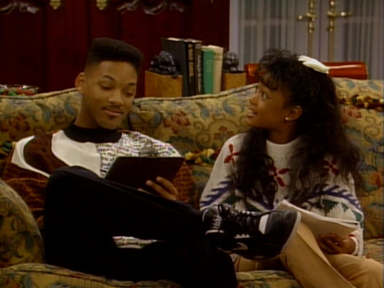 Nike Sneakers in Black Worn by Will Smith in The Fresh Prince of Bel-Air S01E17