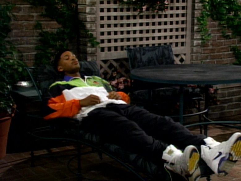 Nike White High Top Sneakers Outfit Idea of Will Smith in The Fresh Prince of Bel-Air S02E15 (3)