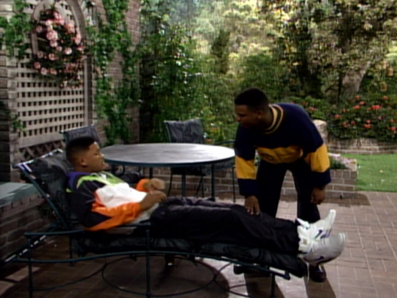Nike White High Top Sneakers Outfit Idea of Will Smith in The Fresh Prince of Bel-Air S02E15 (4)