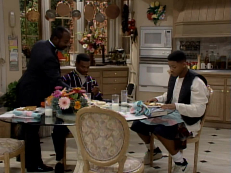 Nike White Shoes of Will Smith in The Fresh Prince of Bel-Air S04E04