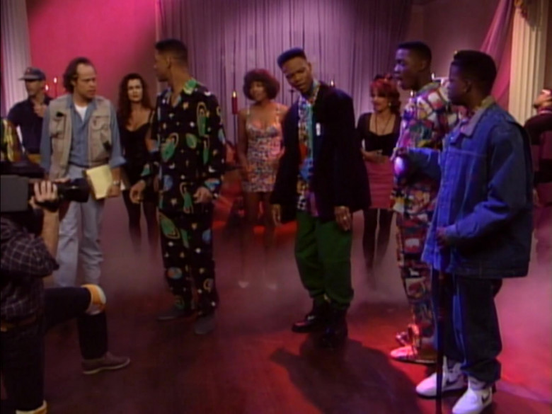 Nike White Sneakers Worn by Actor in The Fresh Prince of Bel-Air S02E11
