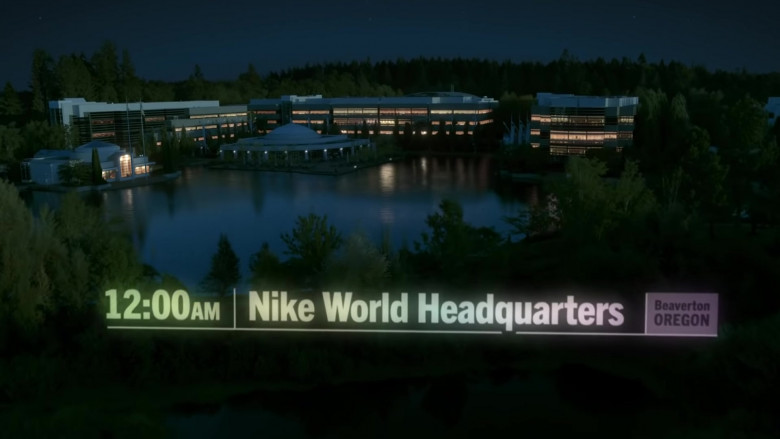 Nike World Headquarters Corporate Campus in Oregon