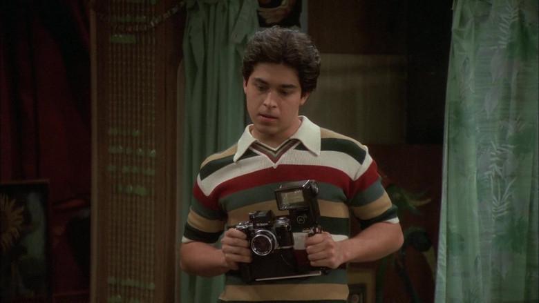 Nikon Camera of Wilmer Valderrama as Fez in That '70s Show S05E24