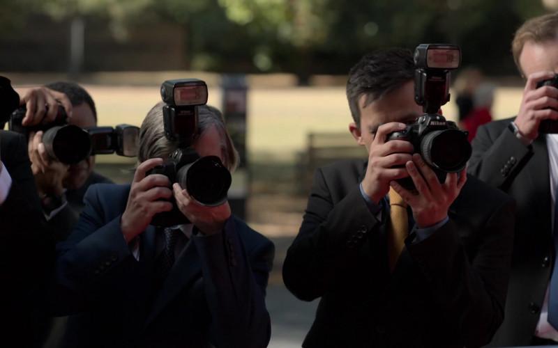 Nikon Cameras in Ted Lasso S01E04