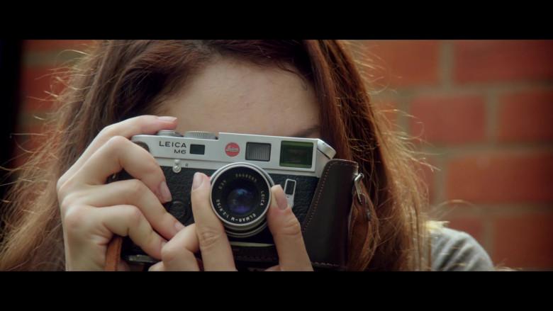 Olga Kurylenko Using Leica M6 Camera in The Bay of Silence Movie (2)