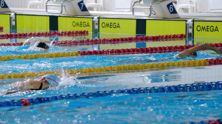 Omega in Swimming for Gold Movie (1)