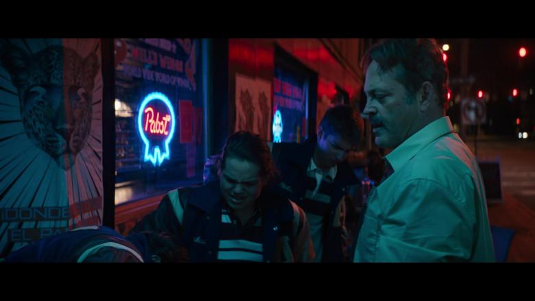 Pabst Beer Neon Sign in The Binge Movie (2)