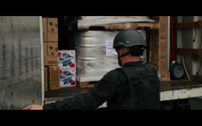 Pabst Blue Ribbon Beer in The Binge (2020)