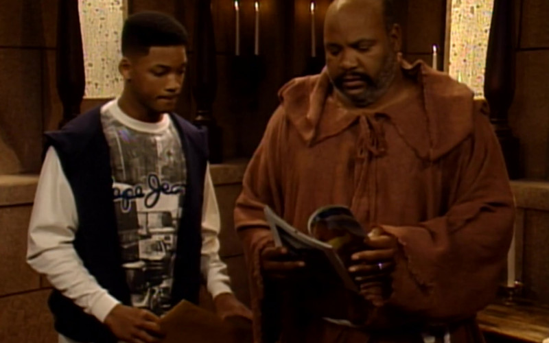 Pepe Jeans Sweatshirt Worn by Will Smith in The Fresh Prince of Bel-Air S04E09 (1)
