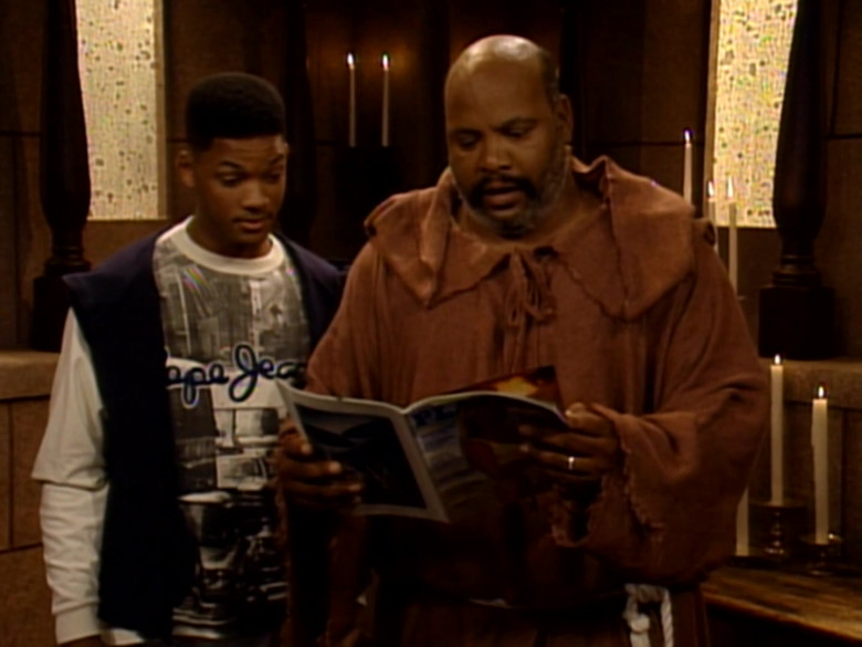 Pepe Jeans Sweatshirt Worn by Will Smith in The Fresh Prince of Bel-Air S04E09 (2)