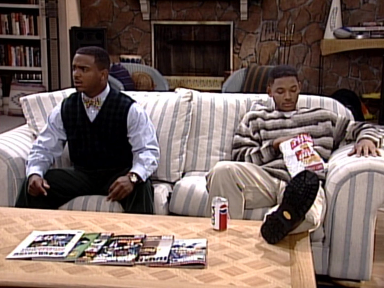 Pepsi Cola Enjoyed by Will Smith in The Fresh Prince of Bel-Air S06E06