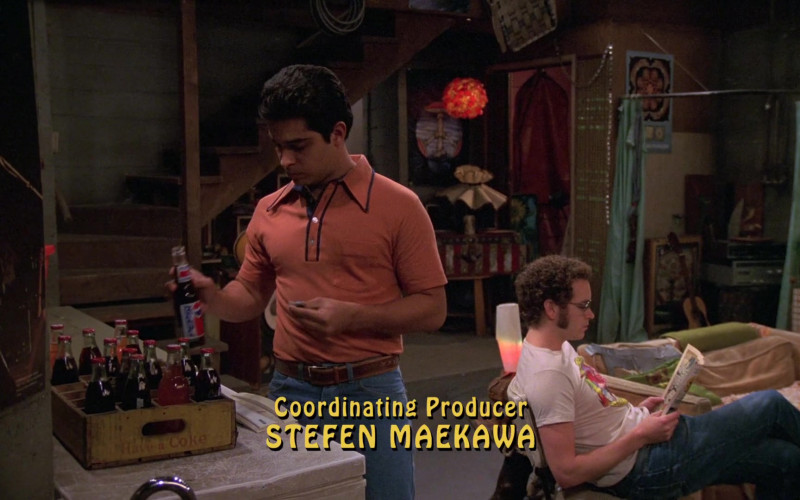 Pepsi Soda Bottle Held by Wilmer Valderrama as Fez in That '70s Show S08E04