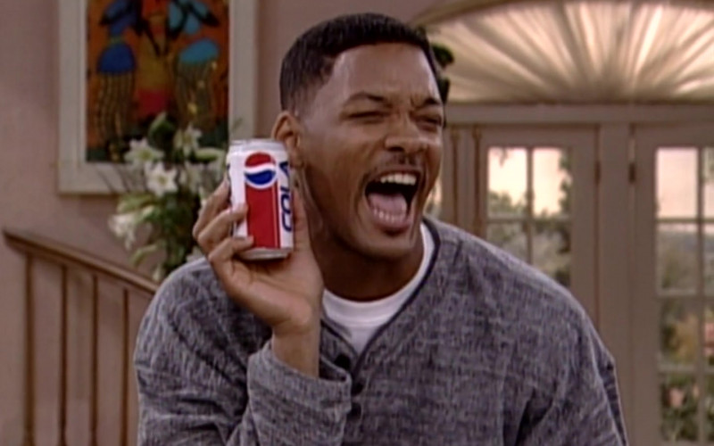 Pepsi Soda Can Held by Will Smith in The Fresh Prince of Bel-Air S06E20 (2)
