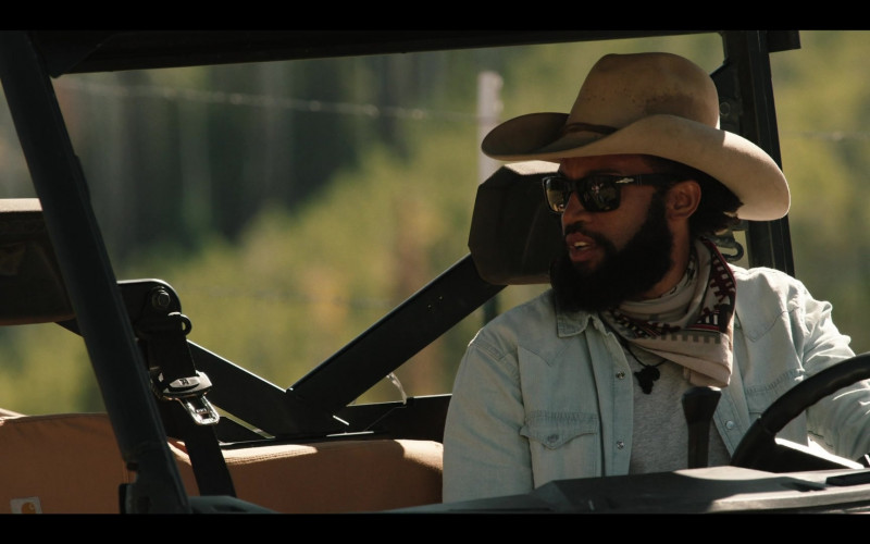 Persol Sunglasses of Denim Richards as Colby in Yellowstone S03E08 (1)