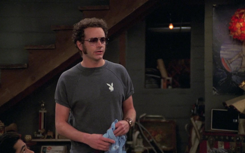 Playboy Bunny T-Shirt of Danny Masterson as Steven Hyde in That '70s Show S08E08
