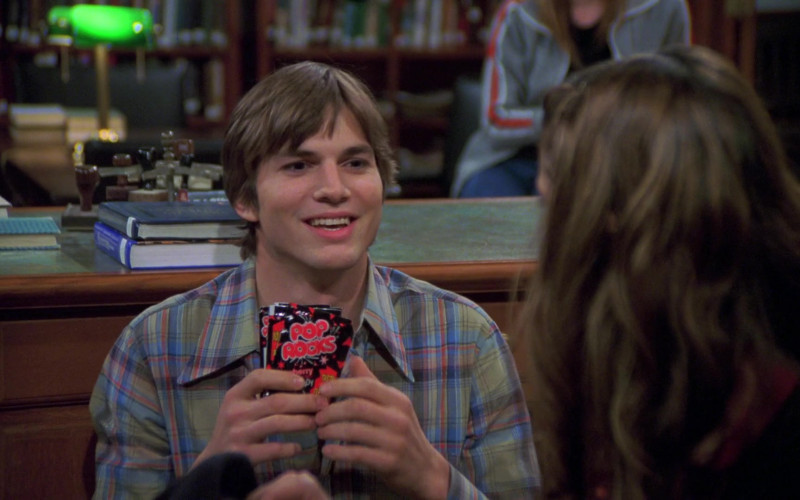 Pop Rocks Candy of Ashton Kutcher as Michael Kelso in That '70s Show S06E05