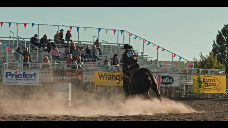 Priefert, Carhartt, Wrangler, Justin, Cactus Ropes in Yellowstone S03E10