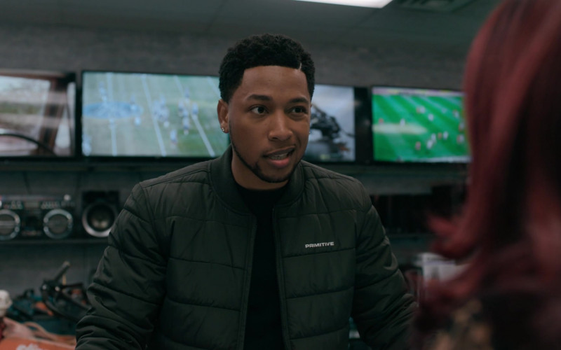 Primitive Bomber Jacket of Jacob Latimore as Emmet in The Chi S03E09 (1)
