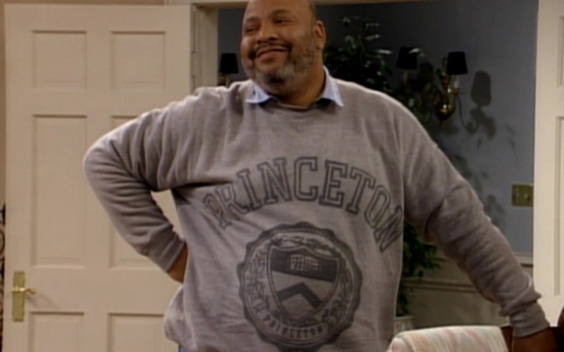 Princeton University Sweatshirt Worn by James Avery as Philip Banks in The Fresh Prince of Bel-Air S03E18