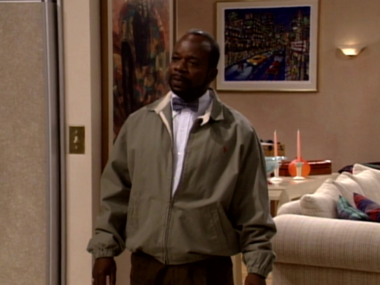 Ralph Lauren Jacket of Joseph Marcell as Geoffrey Butler in The Fresh Prince of Bel-Air S03E01