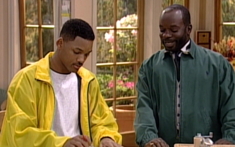 Ralph Lauren Jacket of Joseph Marcell as Geoffrey in The Fresh Prince of Bel-Air S06E23