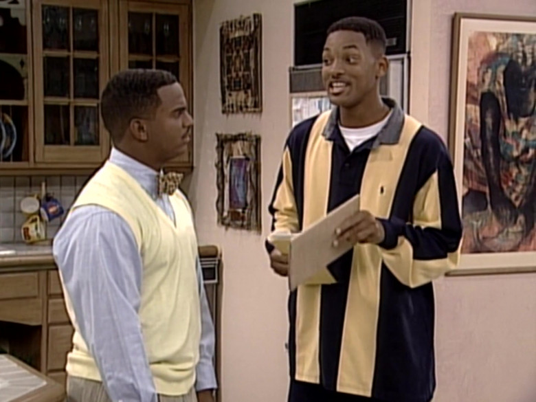 Ralph Lauren Oversized Long Sleeved Shirt Outfit of Will Smith in The Fresh Prince of Bel-Air S06E04 (3)