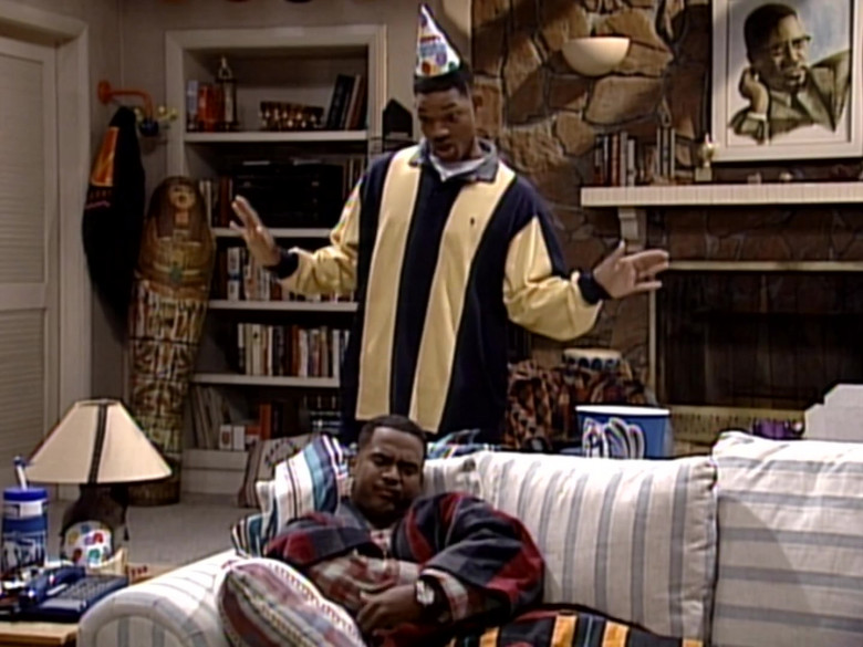 Ralph Lauren Oversized Long Sleeved Shirt Outfit of Will Smith in The Fresh Prince of Bel-Air S06E04 (8)