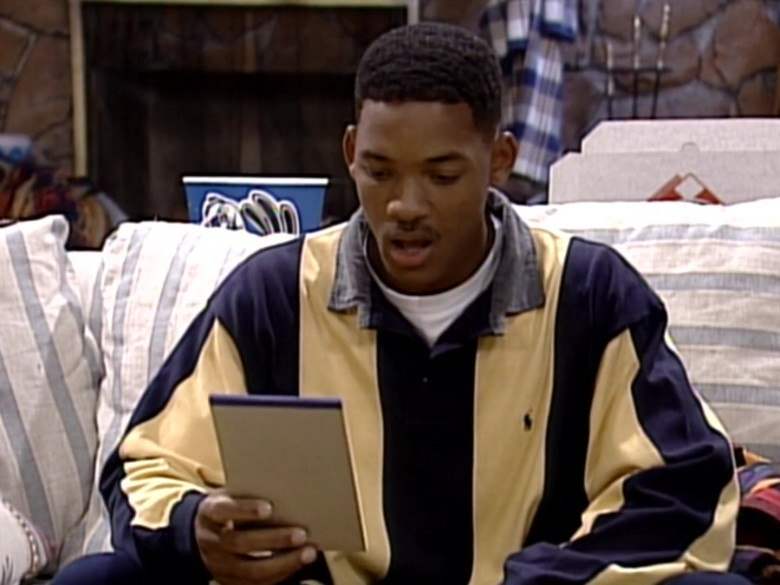 Ralph Lauren Oversized Long Sleeved Shirt Outfit of Will Smith in The Fresh Prince of Bel-Air S06E04 (9)