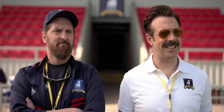 Ray-Ban Aviator Sunglasses of Jason Sudeikis in Ted Lasso S01E02 (2)