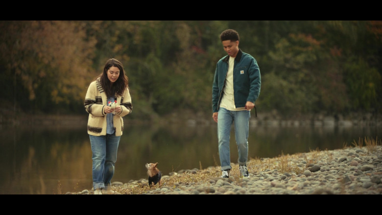 Rhenzy Feliz as Ty Wears Carhartt Jacket Outfit in All Together Now Movie (1)