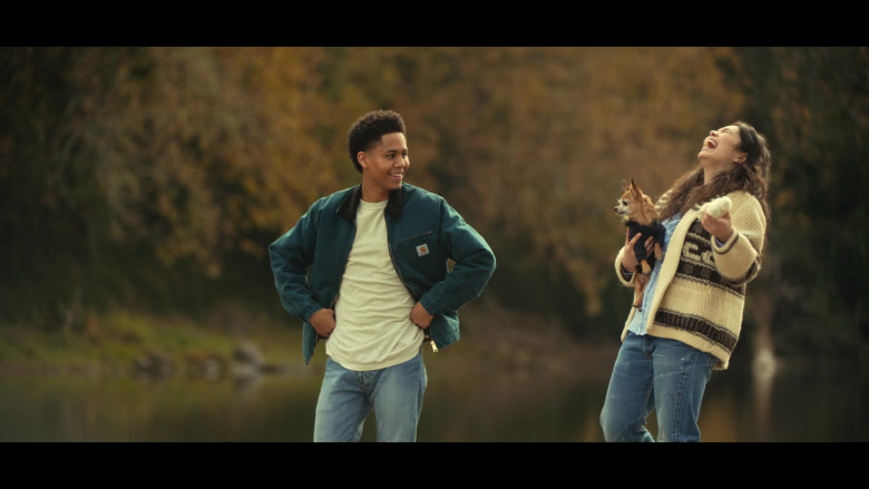 Rhenzy Feliz as Ty Wears Carhartt Jacket Outfit in All Together Now Movie (2)