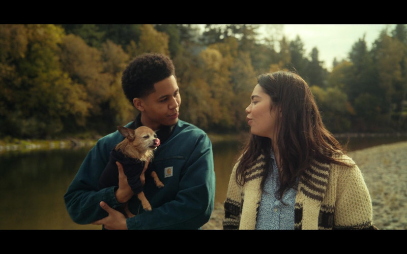 Rhenzy Feliz as Ty Wears Carhartt Jacket Outfit in All Together Now Movie (3)
