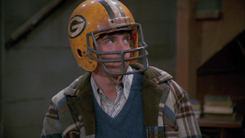 Riddell Helmet Worn by Topher Grace as Eric in That '70s Show S05E07 (3)