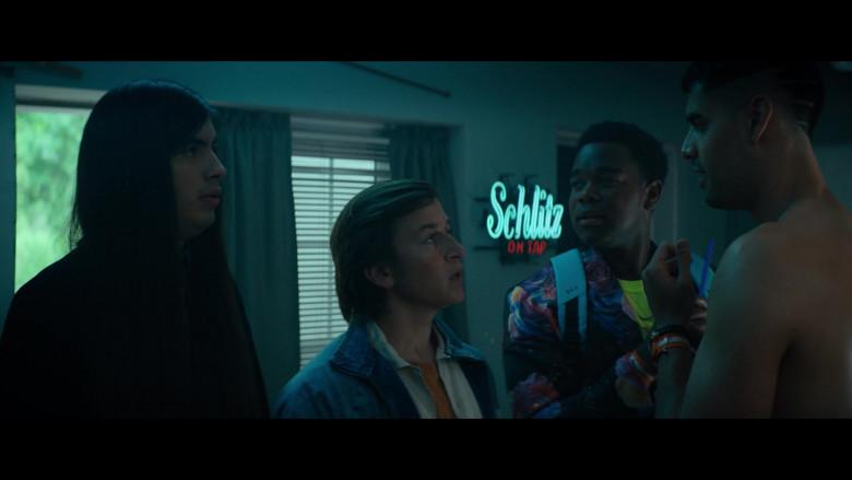 Schlitz Beer Sign in The Binge Movie (2)