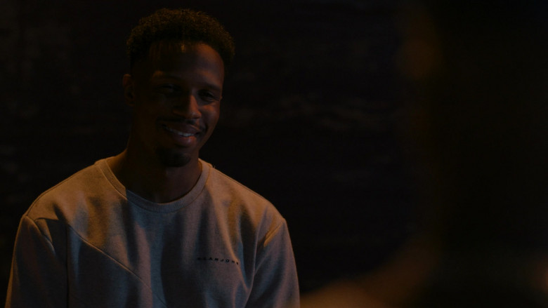 Sean John Men's Sweatshirt Outfit in P-Valley S01E07 (2)