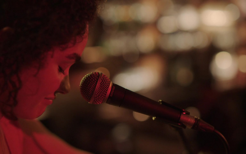 Shure Microphone in Little Voice S01E09