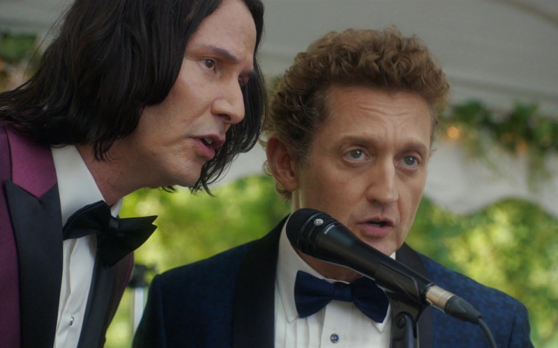 Shure Microphone of Keanu Reeves & Alex Winter in Bill & Ted Face the Music