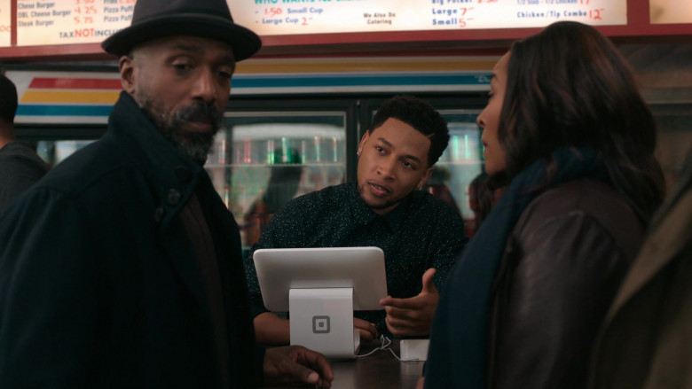 Square Point of Sale (POS) in The Chi S03E09 Lackin' (2020)