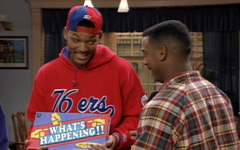 Starter Cap Worn by Will Smith in The Fresh Prince of Bel-Air S04E26